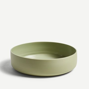 Pale Samphire Serving Bowl (Large) by Arjan Van Dal