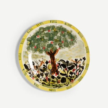 Animals in Eden Ornamental Plate