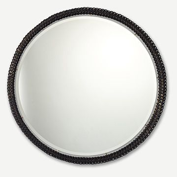 Ricasso Mirror (Black) (Loop) (Large)