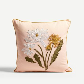 Dahlia Square Cushion
