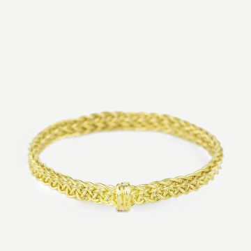 Gold Woven Ring I by Lucie Gledhill