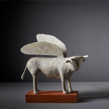 Winged Bull by Christopher Marvell