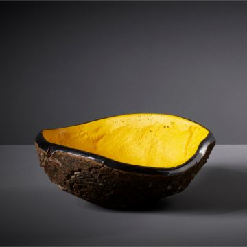 The King's Yellow Cork Vessel by Pedro Da Costa Felgueiras