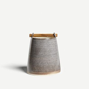 Willow Vessel in Stone Grey I