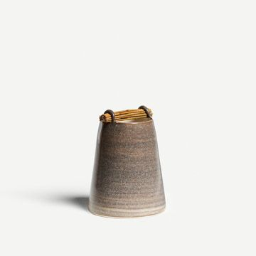 Willow Vessel in Stone Grey II