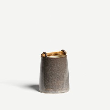 Willow Vessel in Stone Grey IV
