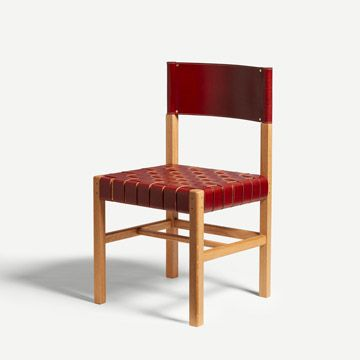Cinch Chair in Sienna Red (Wide Weave)