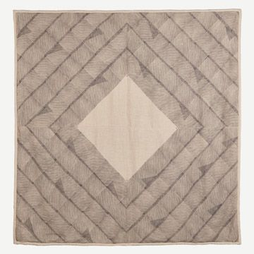 Feather Line Quilt I