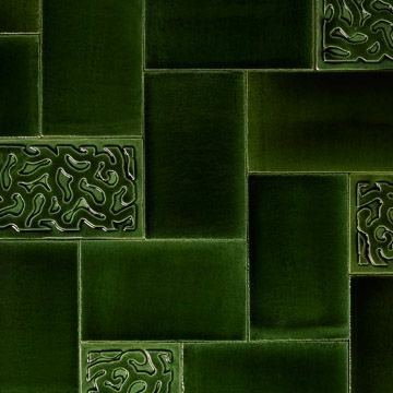 Piano Tile in Green