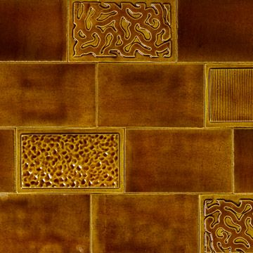 Piano Tile in Mustard