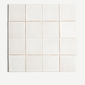 Plain Tile in White