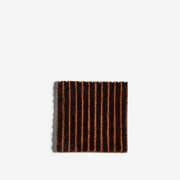 Fluted Tile in Tenmoku