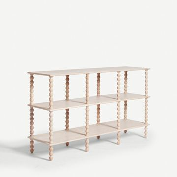 Bobbin Console Table in Limed Oak by Alfred Newall