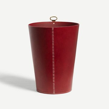 Eyelet Bin in Sienna (Bar Stitch)