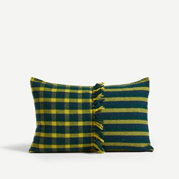 Alice Check Rectangular Cushion