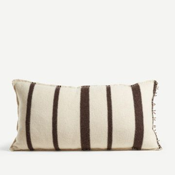 St. Ishmael Rectangular Cushion in Cream