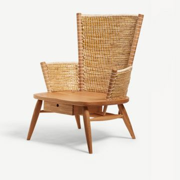Brodgar Lounge Chair (Without Drawer) by Gareth Neal and Kevin Gauld