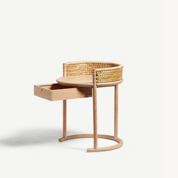 Brodgar Side Table (With Drawer)