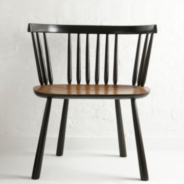 Invisible Green' Painted Pembroke Chair by The New Craftsmen