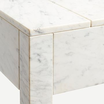 Articulate Console Table (Carrara Marble)