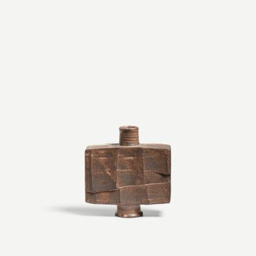 Dry Rutile Faceted Flask IV
