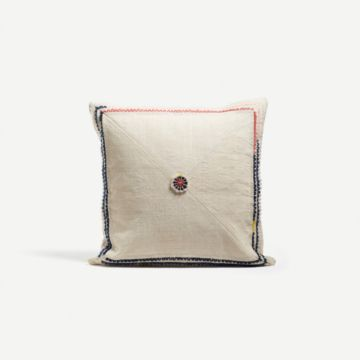 Loop Embroidered Cushion I by AImee Betts