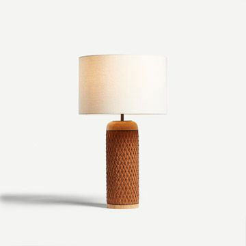 Ricasso Barrel Table Lamp