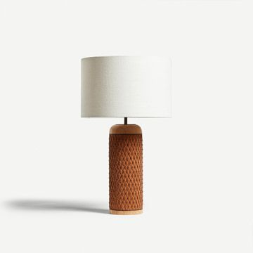 Ricasso Barrel Table Lamp by The New Craftsmen