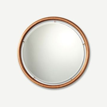 Ricasso Mirror (Tan) (Stripe) (Small)