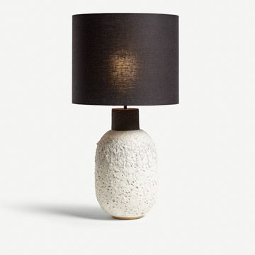 White Lava Table Lamp (Tall)