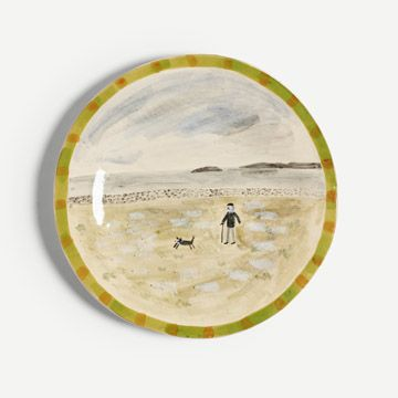 Farmer and Sheep Plate