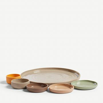 Grogged Mezze Serveware Set