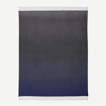 Nuance Ombre Cashmere Throw in Nautilus by Begg x Co