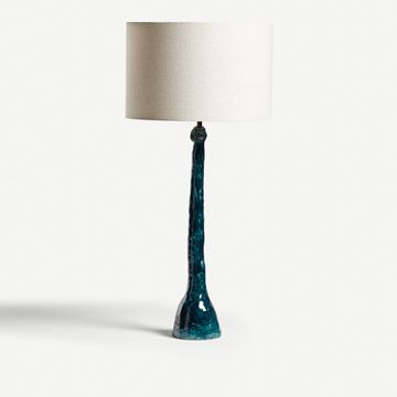 Figurative Stem Table Lamp (Petrol)