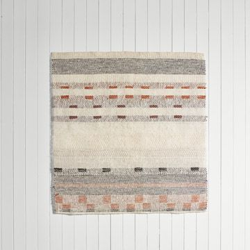 'Interrupted Pattern I' Handwoven Panel (Medium) by Catarina Riccabona