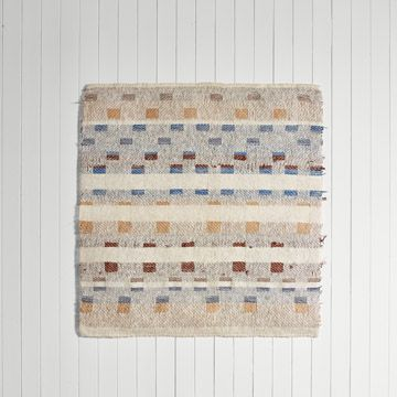 'Interrupted Pattern II' Handwoven Panel (Medium) by Catarina Riccabona