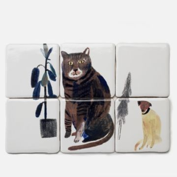 Cat and Dog Tiles