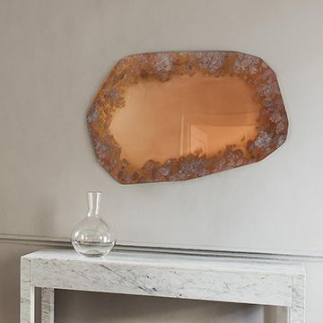 Rosa Lichen Mirror (Large)