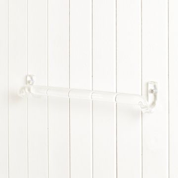 Borosilicate Glass Towel Rail by Jochen Holz