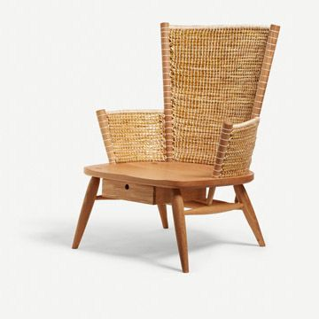 Brodgar Lounge Chair (With Drawer)