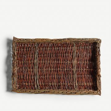 Dark Red Willow Tray