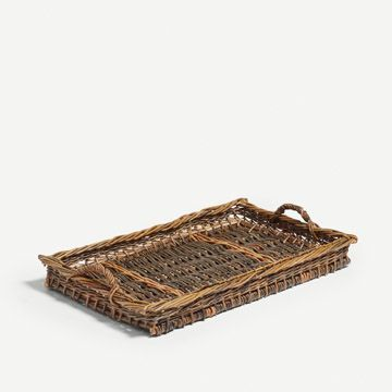 Grey Green Willow Tray
