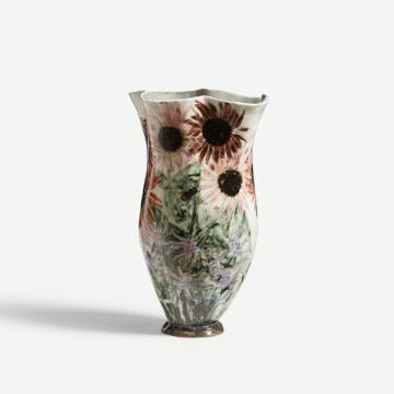 Indian Summer Vessel by Jacqueline Leighton Boyce