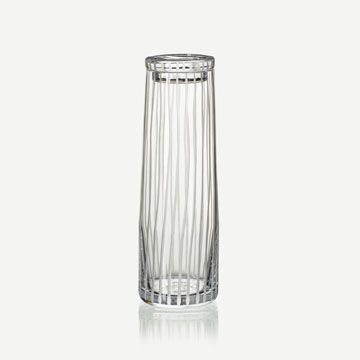 Crystal Row Decanter