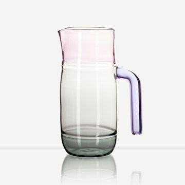Incalmo Jug (Pink, Grey and Purple)