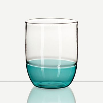 Incalmo Water Glass (Teal)