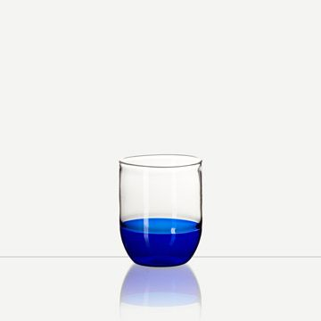 Incalmo Water Glass (Blue)