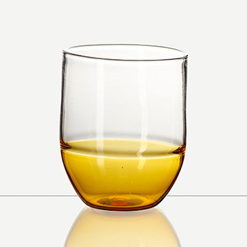 Incalmo Water Glasses (Amber)