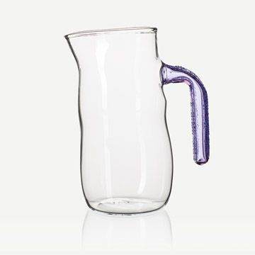 Purple and Lilac Speckled Jug I