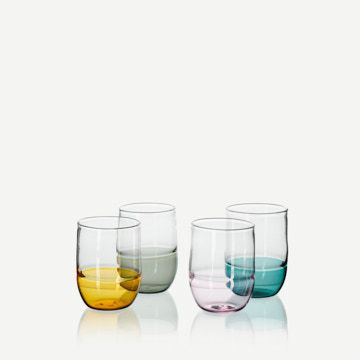 Incalmo Water Glasses (Set of 4)